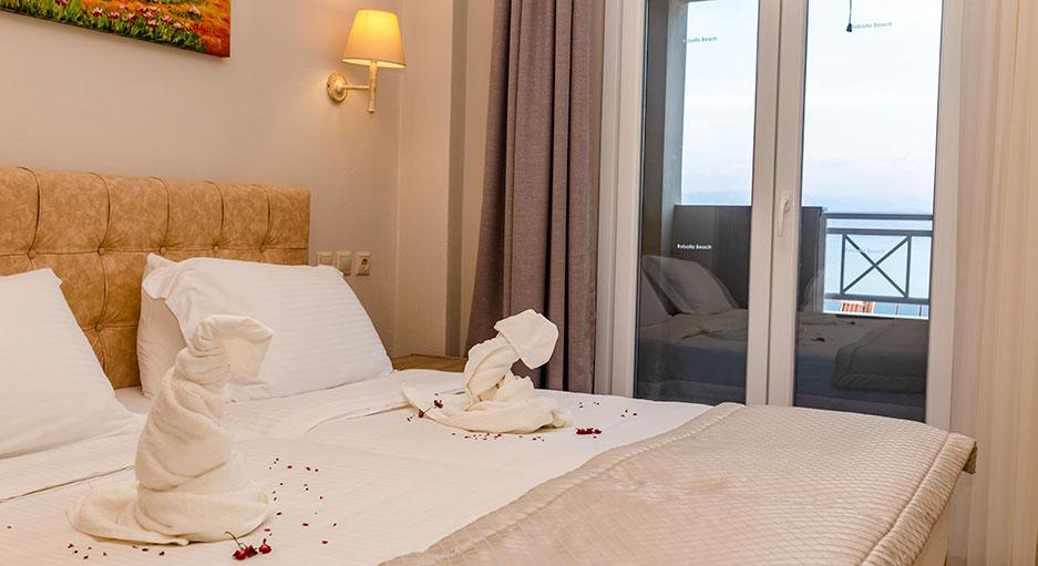 Apartments in Corfu | Robolla Beach Aparthotel Roda Corfu