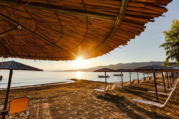 Beach | Robolla Beach Aparthotel Roda Corfu