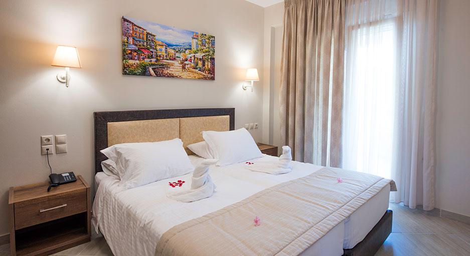 Studios in Corfu | Robolla Beach Aparthotel Roda Corfu