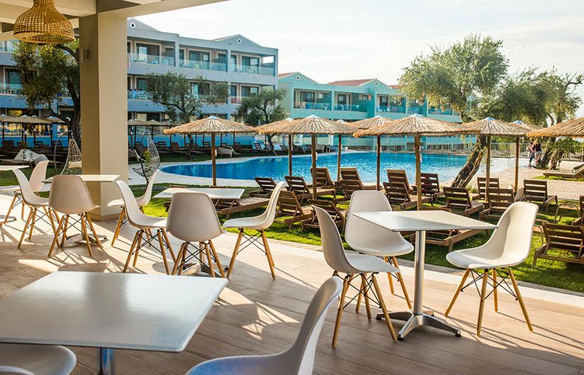 Pool Bar | Robolla Beach Aparthotel Roda Corfu