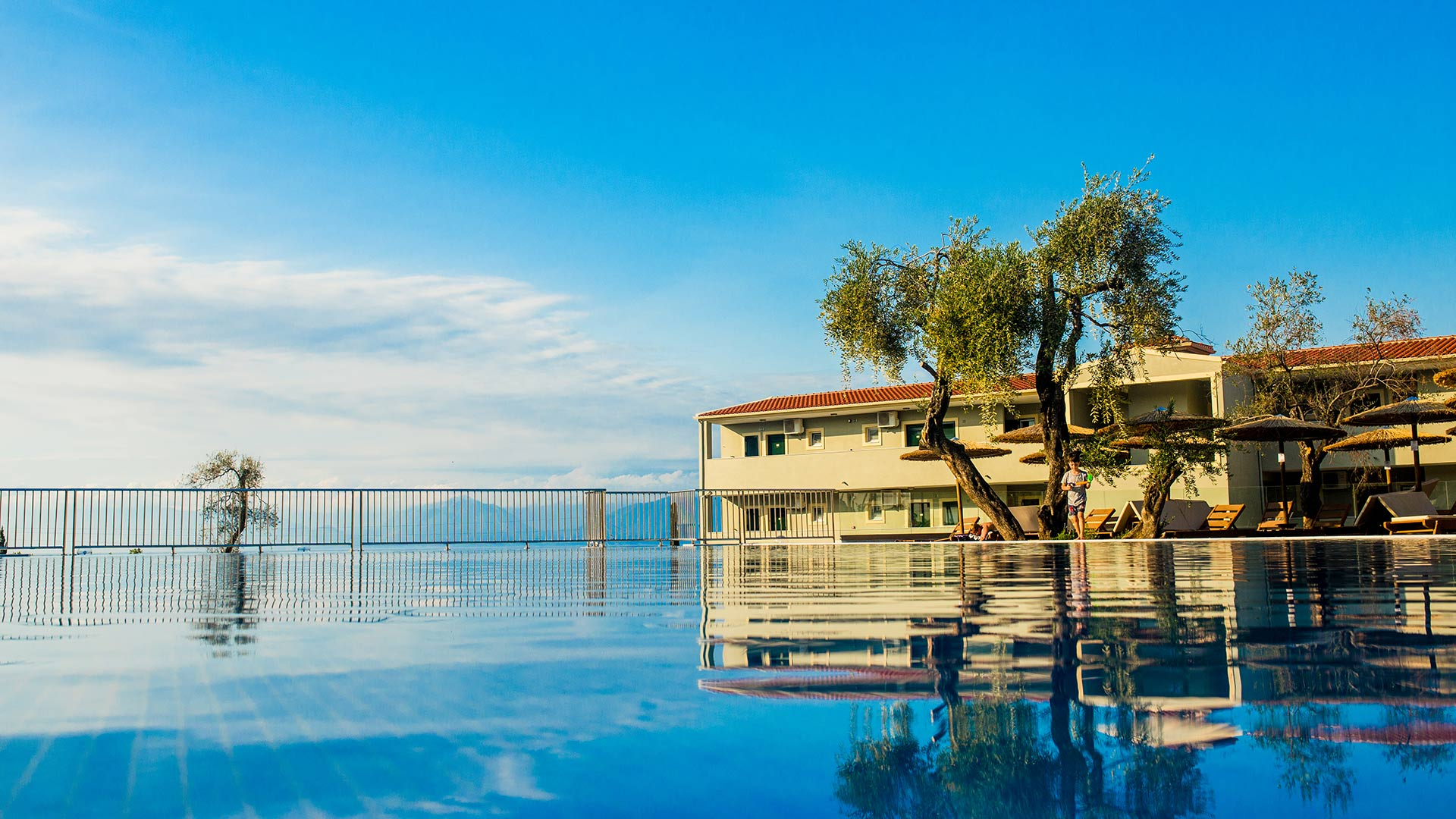 Swimming Pool | Robolla Beach Aparthotel Roda Corfu