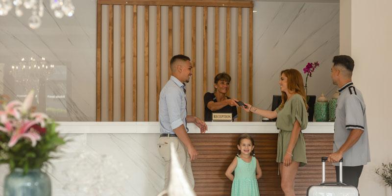 Reception | Robolla Hotel Roda Corfu