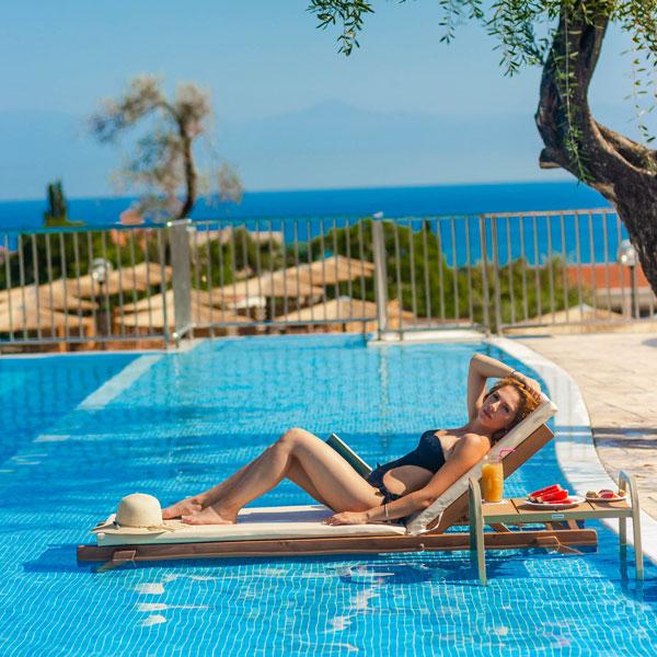 Swimming Pool | Robolla Hotel Roda Corfu