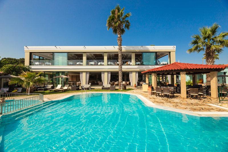 Main Building | Robolla Hotel Roda Corfu