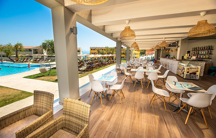 Pool Bar | Robolla Hotel Roda Corfu