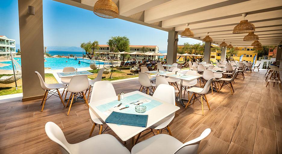 Swimming Pool   Robolla Hotel Roda Corfu