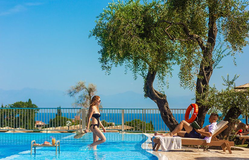 Swimming Pool | Robolla Hotel Roda Corfu